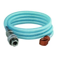"""T&S B-2395-02 96"""" Flexible PVC Hose Assembly with Quick ..."""
