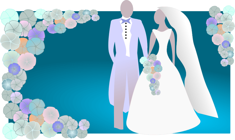 Bride And Groom Clipart Free Wedding Graphics