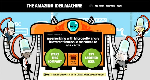 The amazing Idea Machine