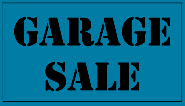 Annual Garage Sale