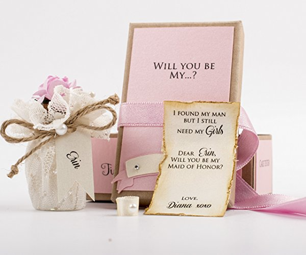 9 Creative Will You Be My Bridesmaid Ideas Wedded