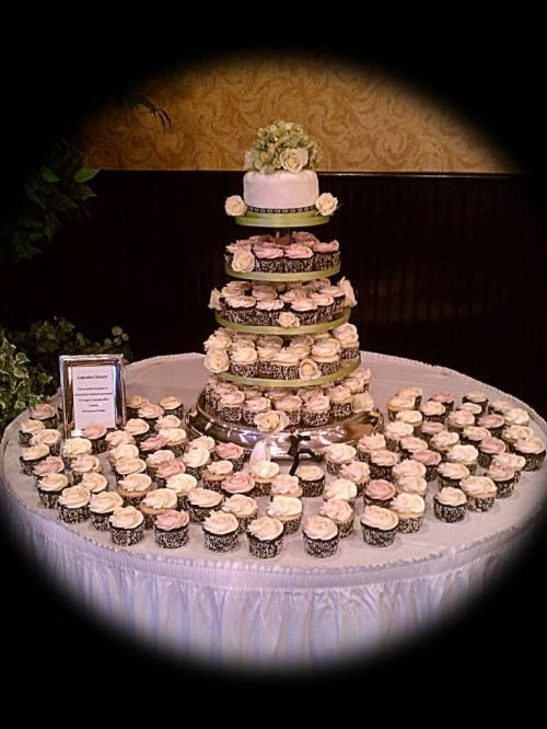 Medium Of Cupcake Wedding Cake