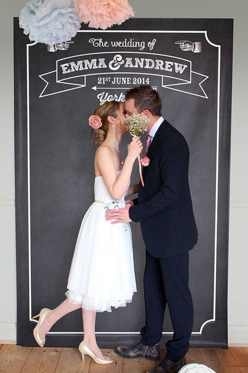 Married Couple Wallpaper With Quotes Diy Photo Booths To Suit Any Wedding Chwv