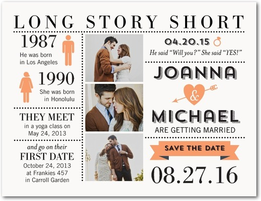 long story short save the date template