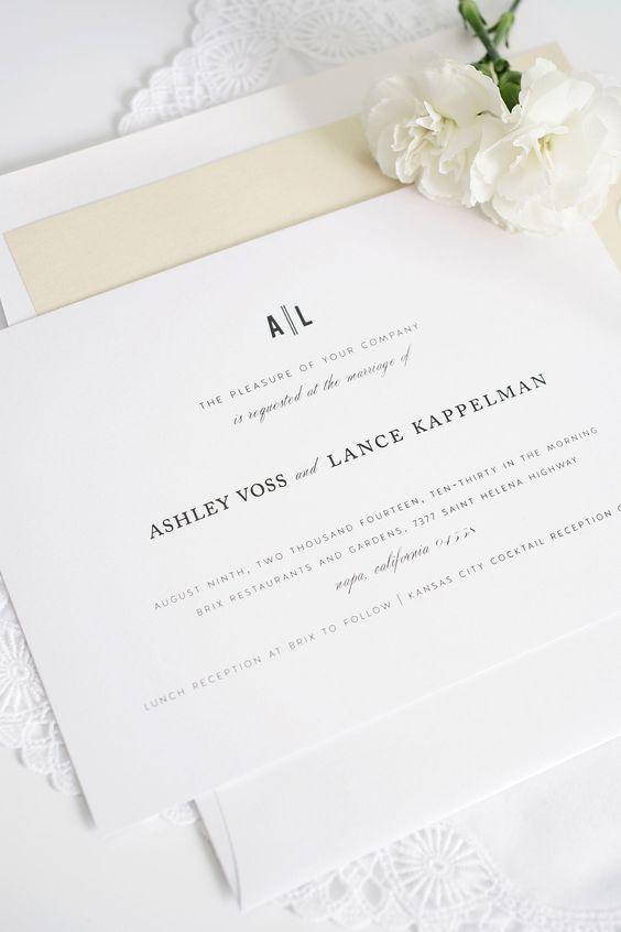 Writing your Day Invitations Wedding Invitation Wording CHWV