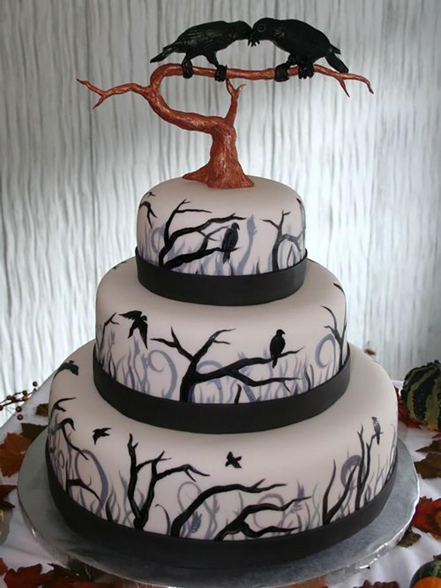Fullsize Of Halloween Wedding Cakes