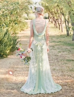 Small Of Green Wedding Dresses