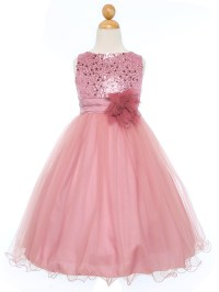 Pink Flower Girl Dresses | CHWV