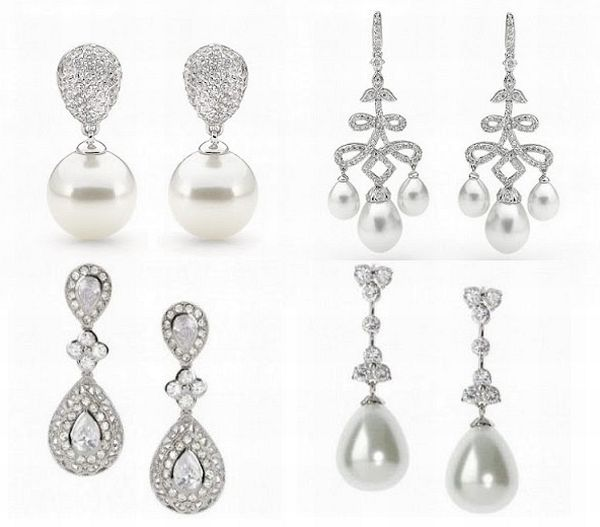 Bridal jewelry collection
