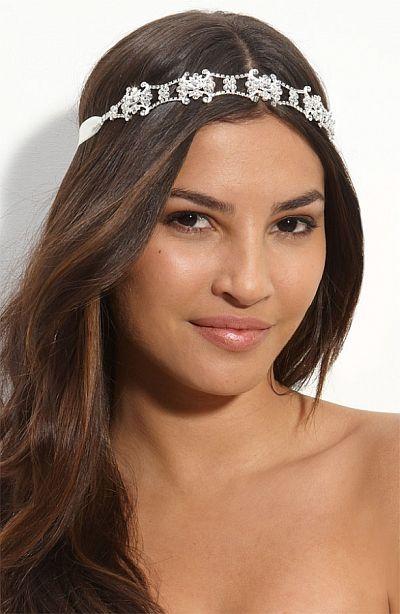 Kim Kardashian's Wedding Headpiece