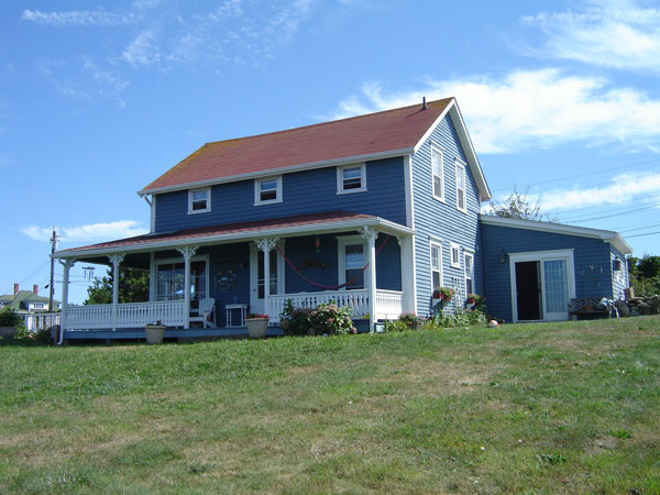 The Sullivan House on Block Island