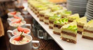 Creative wedding food trends