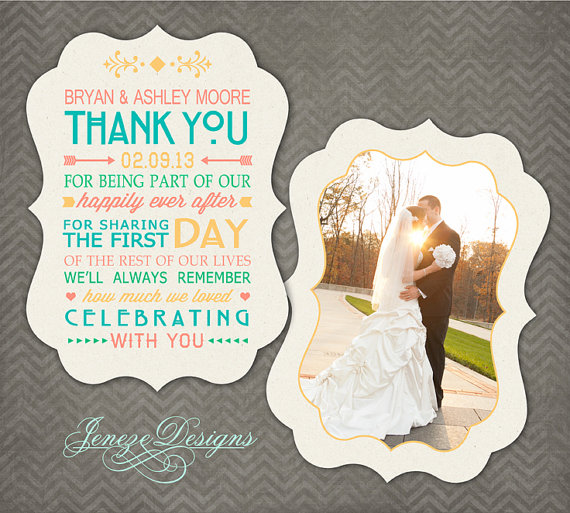 DIY Make Your Own Thank You Cards WeddingDates Blog