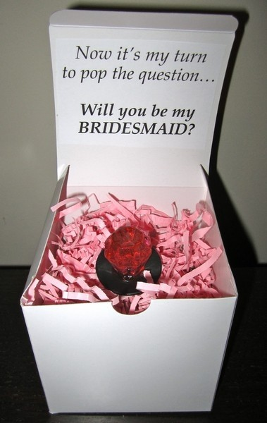 """""""Proposing"""" to Your Maid of Honor – A Super Cute Idea"""