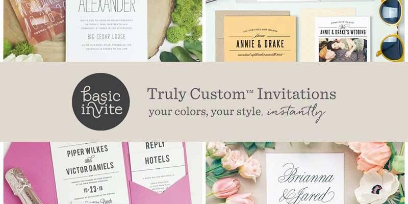 4 Elegant Ways To Customize Your Basic Invite Wedding Invitations