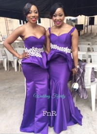 Purple and Silver Bridesmaid Dresses  Fashion dresses