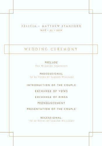 21 Printable Wedding Program Template Ideas Wedding Forward
