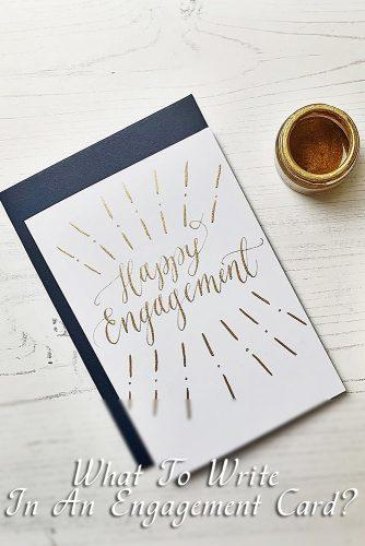29 Engagement Wishes Examples And Writing Tips Wedding Forward