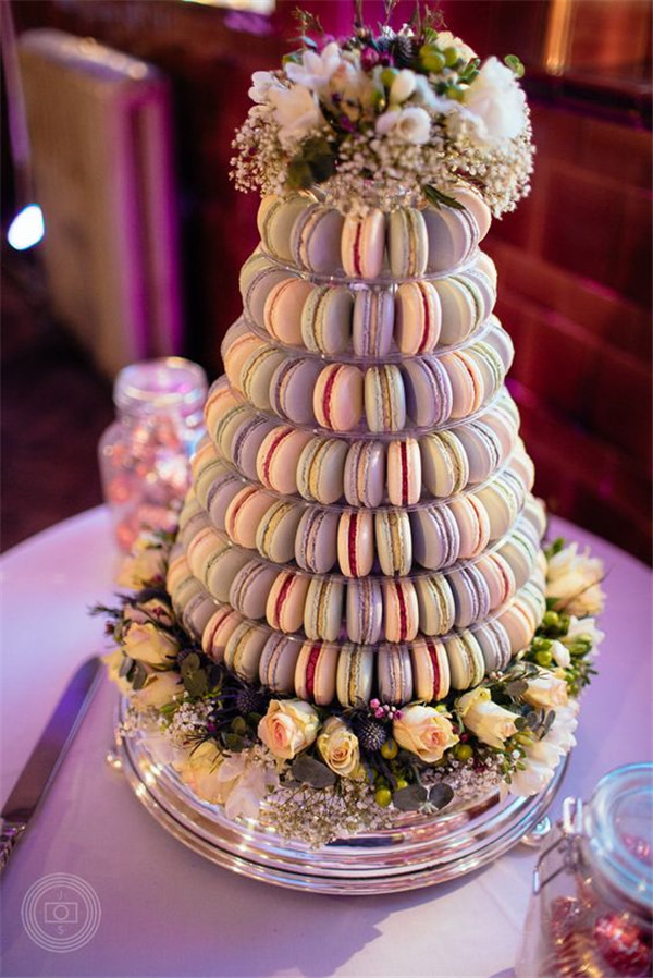 Fall In Nyc Wallpaper 18 Sweet Macaroon Wedding Cake Ideas To Dazzle Your Guests