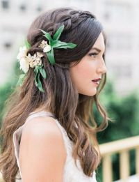 22 Half Up and Half Down Wedding Hairstyles to Get You ...