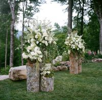 22 Rustic Backyard Wedding Decoration Ideas on A Budget ...