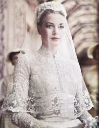 Kate Middletons Wedding Dress  Inspired by Grace Kelly ...