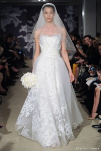 Carolina Herrera Bridal Spring 2015 Wedding Dresses ...
