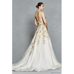 Small Crop Of Gold Wedding Dresses