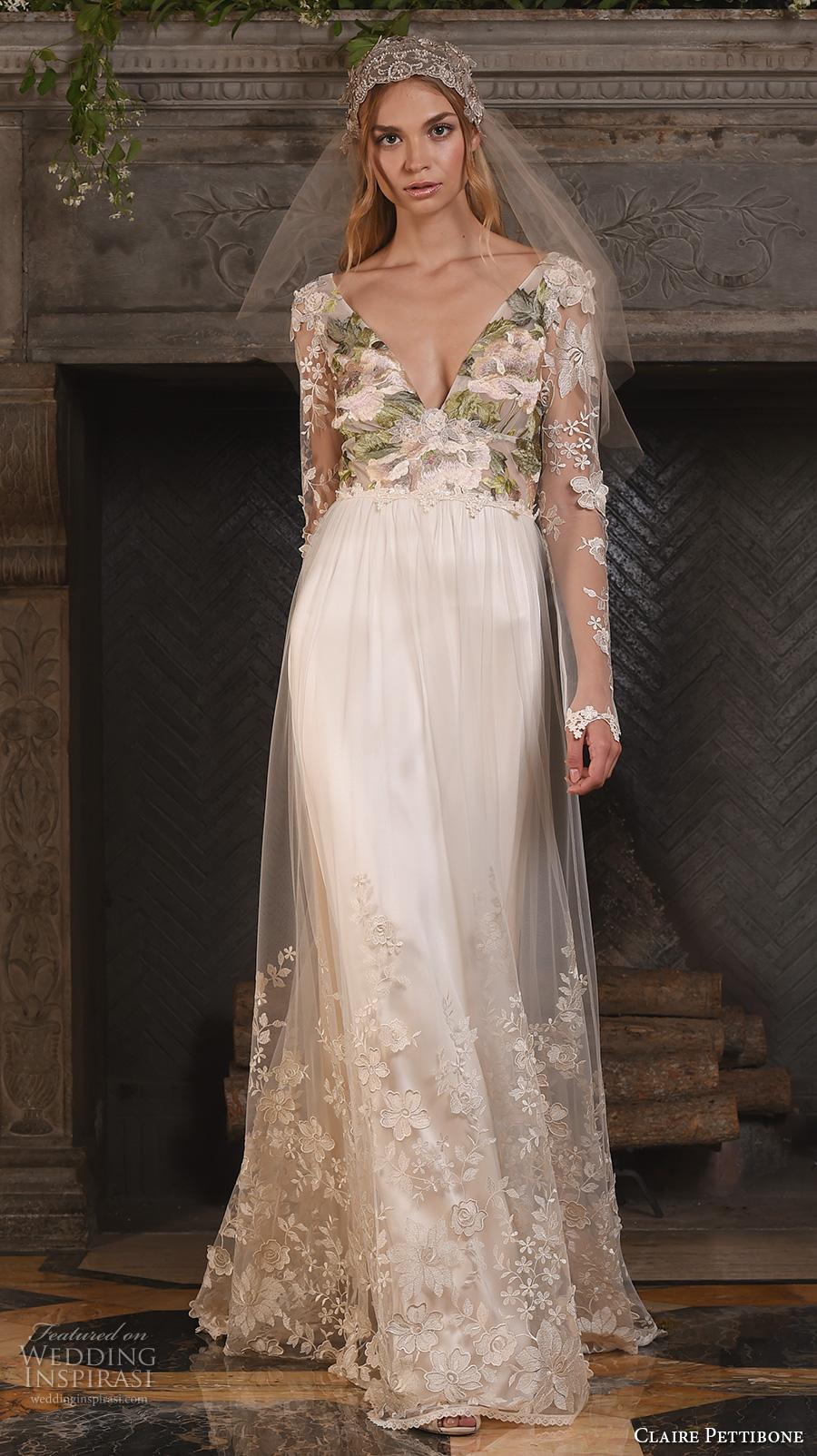 Claire Pettibone Fall 2017 Wedding Dresses Crazyforus