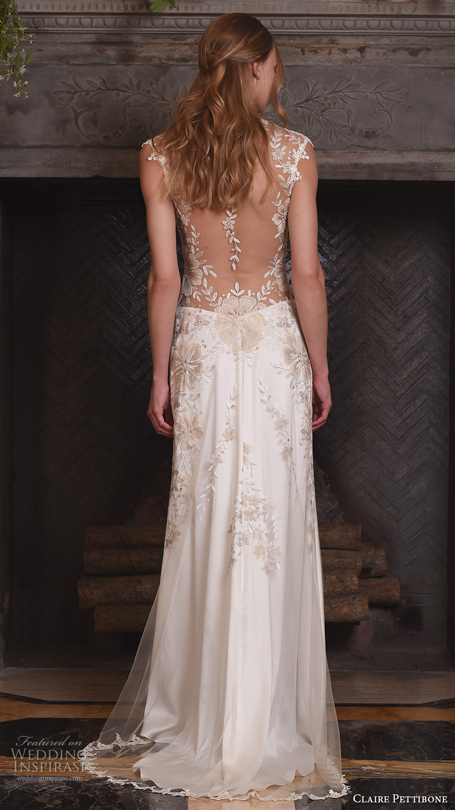Claire pettibone fall 2017 wedding dresses crazyforus for Wedding dress claire pettibone