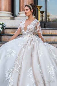 Crystal Design 2017 Wedding Dresses  Haute Couture Bridal