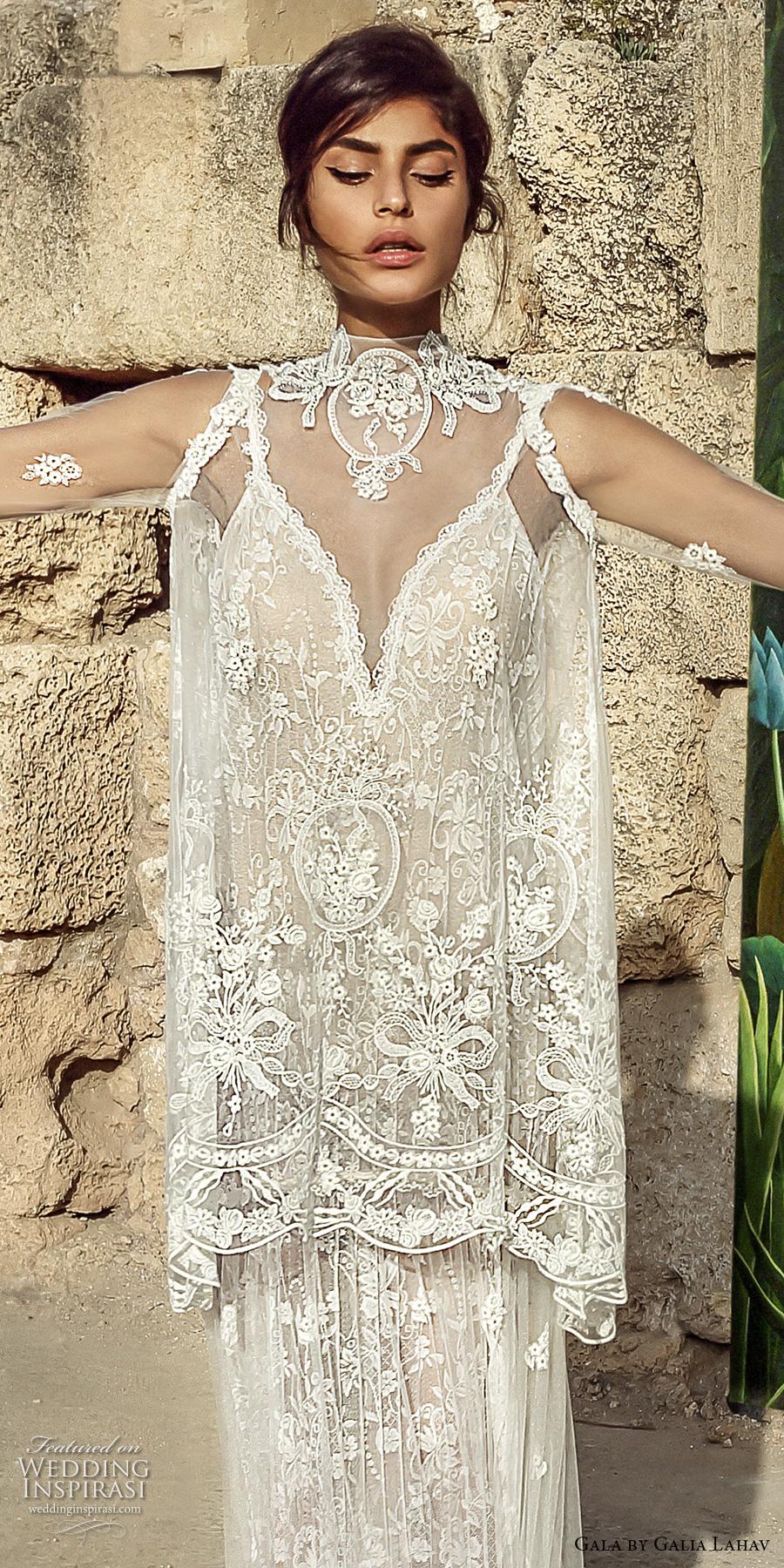 Gala by galia lahav 2017 wedding dresses crazyforus for Long sleeve wedding dress topper