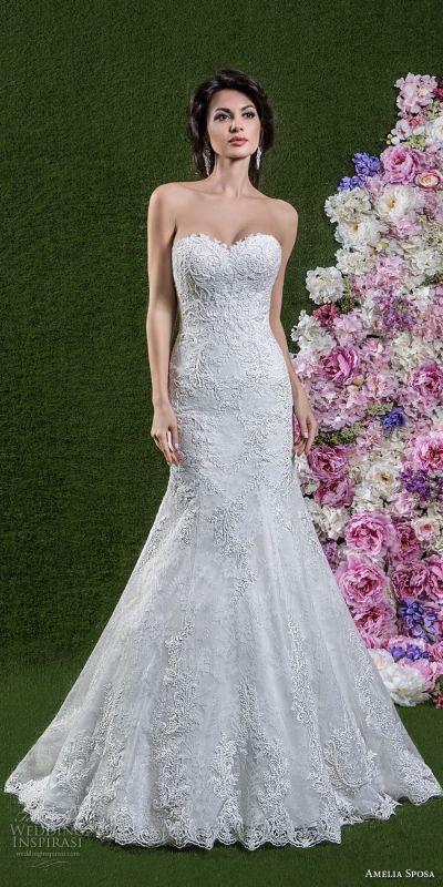 Amelia Sposa 2018 Wedding Dresses | Wedding Inspirasi