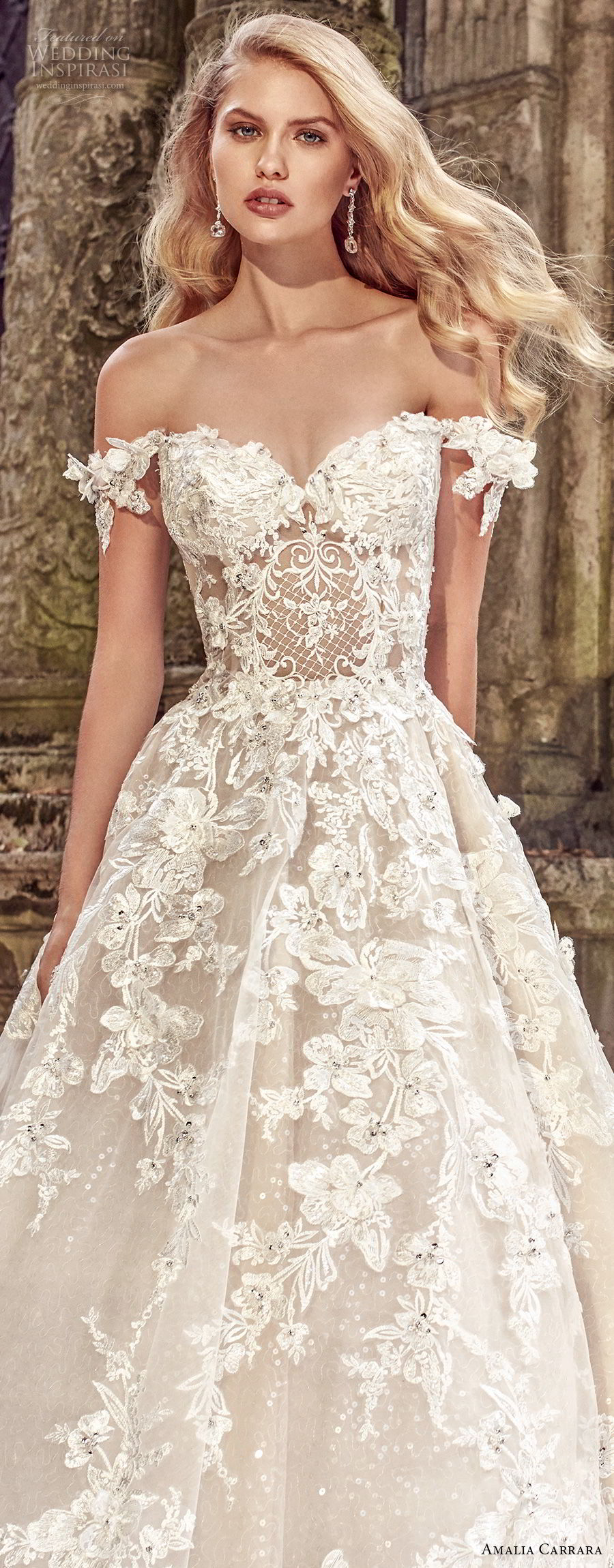 Amalia carrara spring 2018 wedding dresses crazyforus Wedding dress themes 2018
