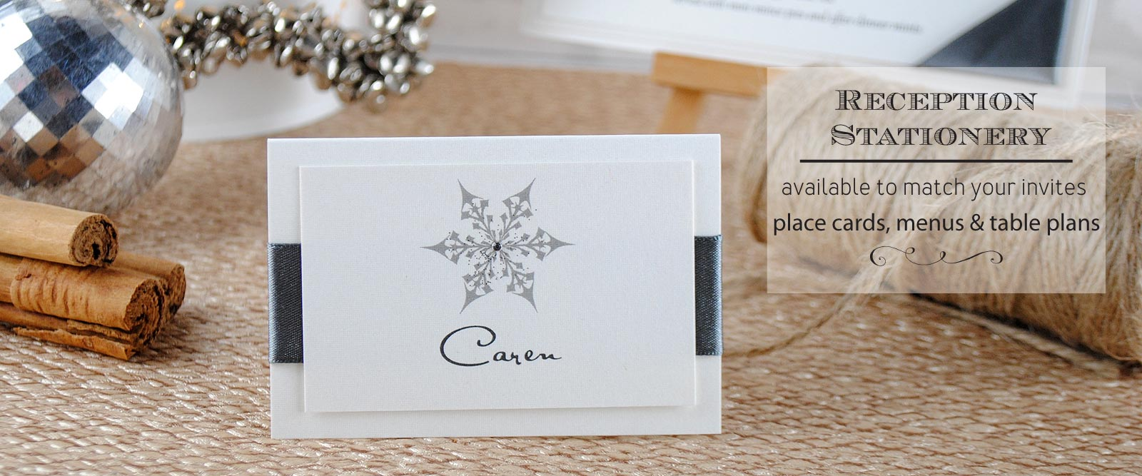 Beautiful Handmade Wedding Place Cards Wedding Invitation Boutique ...
