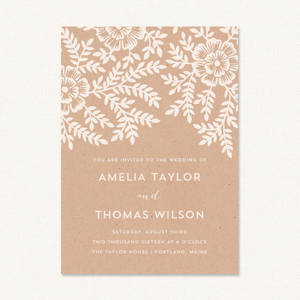 Rustic Floral Wedding Invitations Archives - Wedding Invitations - rustic wedding invitation