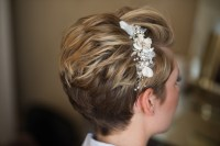 Wedding hair styles for short hair - Wedding Make Up and ...