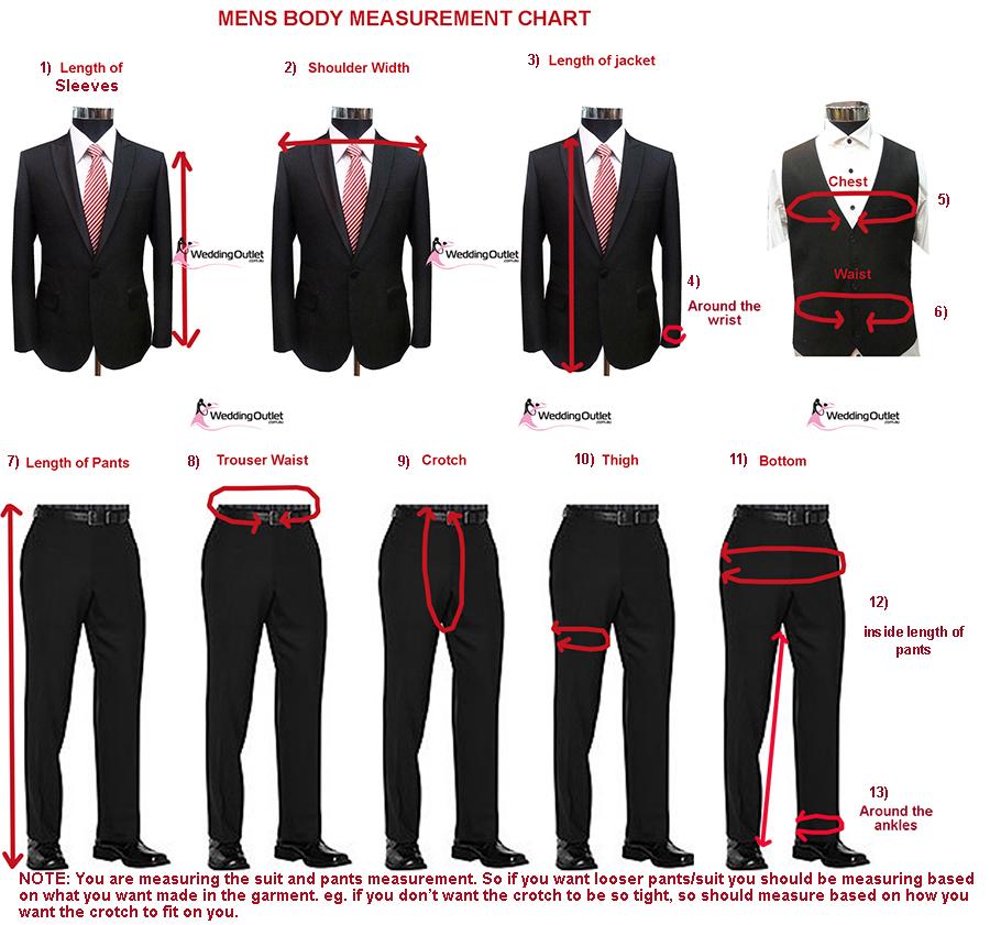 body measurements diagram