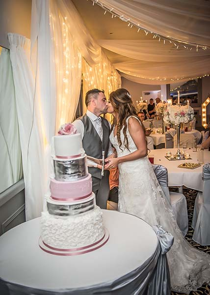 Wedding Cake at Stirk House Hotel