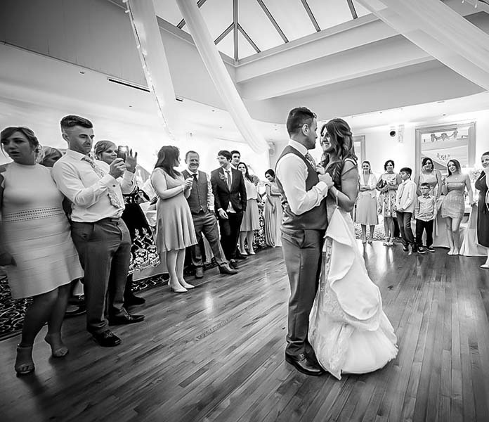 Wedding First Dance at Stirk House Hotel