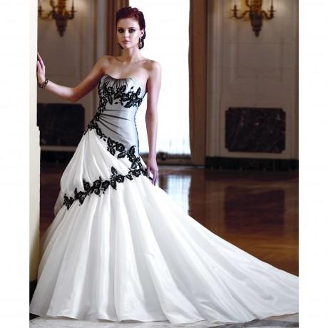 White Black Wedding Dresses Wedding Plan Ideas
