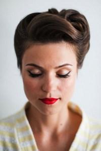16 Seriously Chic Vintage Wedding Hairstyles | weddingsonline