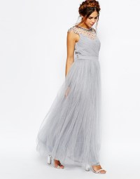 20 Gorgeous Grey Bridesmaid Dresses