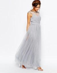 20 Gorgeous Grey Bridesmaid Dresses | weddingsonline