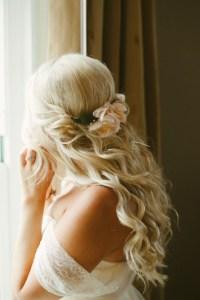 16 Stunning Half Up Half Down Wedding Hairstyles ...