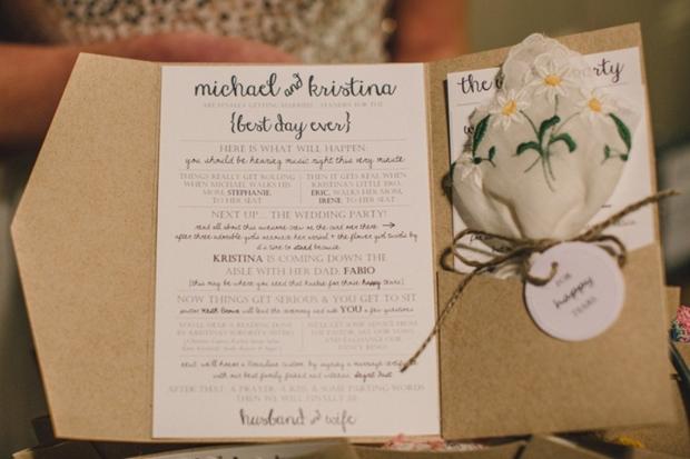 30 of the Best Ceremony Booklet Ideas weddingsonline