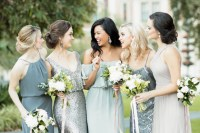 30 Gorgeous Autumn/Winter Bridesmaid Dresses | weddingsonline