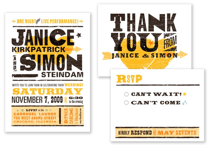Google Image Result for http\/\/wwwweddingwindow\/blog\/wp - invitations that look like concert tickets