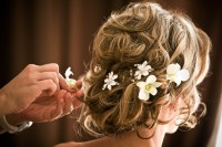 Wedding Hair: Flower Accessories