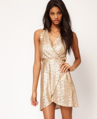 Gold Party Dresses for the Holidays